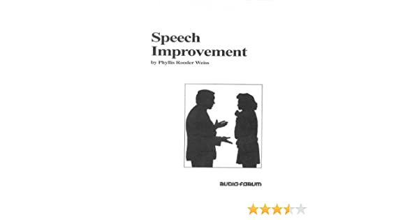 Speech Improvement: Do-It-Yourself (Book and 3 Cassettes) Pap/Cas Edition