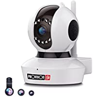 Provision-ISR 1080p HD WIFI Camera (2.0 Megapixel), Pan/Tilt IP Security Surveillance System, Baby Monitor, Nanny Cam, 2 Way Talkback, White