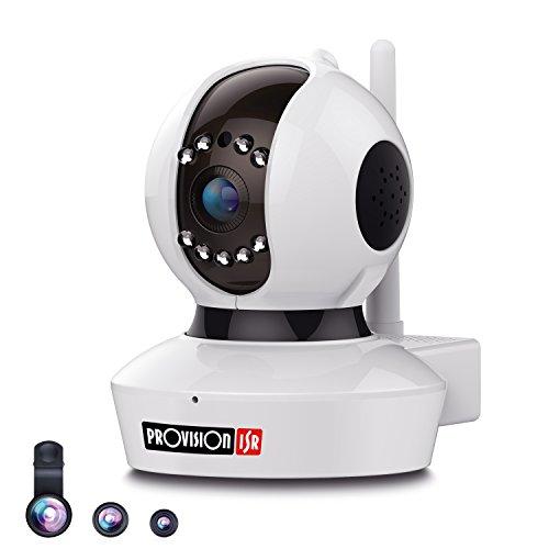 Cheap Provision-ISR 1080p HD WIFI Camera (2.0 Megapixel), Pan/Tilt IP Security Surveillance System, Baby Monitor, Nanny Cam, 2 Way Talkback, White