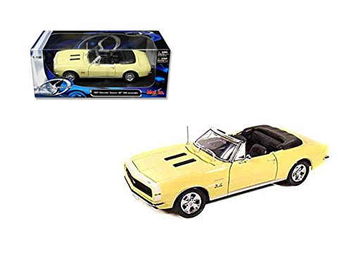 (DIECAST MAISTO 1:18 Special Edition 1967 Chevrolet Camaro SS 396 Convertible 31684YL by MAISTO)