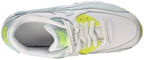 white 90 Gymnastique Fille glacier volt Ltr Blanc Gs Nike Max Blue De Air Chaussures Cassé pwq0ECP