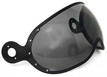 Momo - Visera para casco Standard - 80% ahumada - Antiarañazos