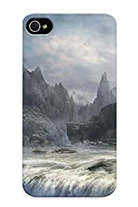 Ellent Design Waterfall Near The Castle Phone Case For Iphone 6 plus 5.5 Premium Tpu Case For Thanksgiving Day's Gift