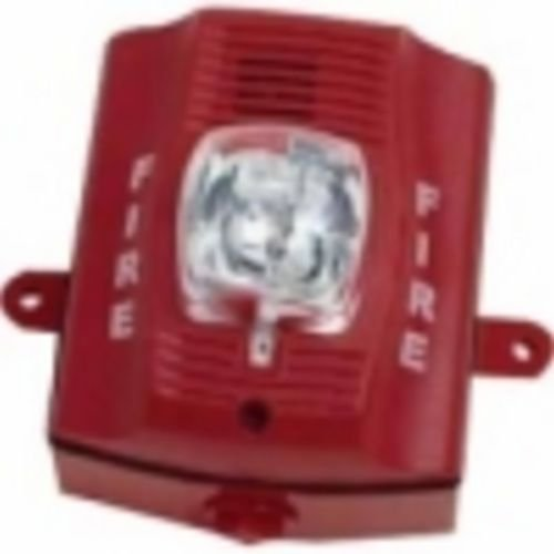 Outdoor H/S, Wall, 2-Wire, Std Candela, (Fire Alarm Horn)