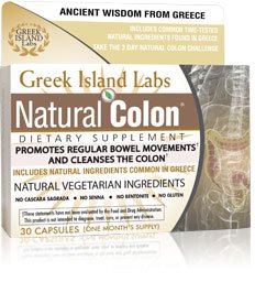 Natural Colon – Colon Cleansing Dietary Supplement – Works in 3 Days – 30 Day Supply
