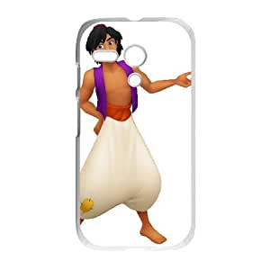 Motorola G Cell Phone Case Covers White Aladdin Character Aladdin A3731119