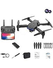 GPS-drones Met 4K HD Dual Camera Voor Volwassenen Visuele Positionering Wifi Drone, Luchtdruk Hoogte Hold/Hover, Circle Fly, High-Speed Rotation, One Key Take Off/Landing/Return