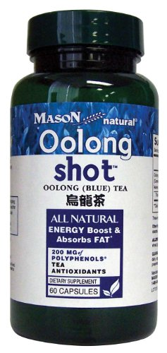 Mason Vitamins Mason Vitamins Oolong Shot, oolong(blue) Tea, 60-Count