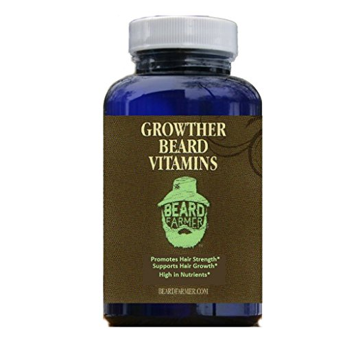 Beard Growther Vitamins - (For Quick Beard Growing), 90 tablets.