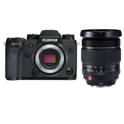 Fujifilm X-H1 Mirrorless Camera Body, Black - With XF 16-55m