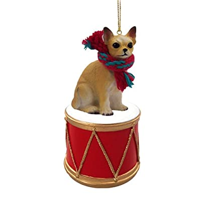 Animal-Den-Little-Drummer-Chihuahua-Christmas-Ornament-Hand-Painted-Delightful