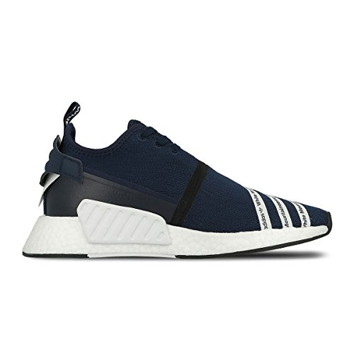 info for 268d2 39013 Adidas Mens WM NMD R2 PK White Mountaineering Navy/Black-White Fabric Size  9.5