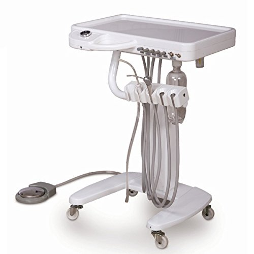 Dental Portable Moveable Treatment Desk Handpiece Self Delivery Unit Cart PT by AL Dental