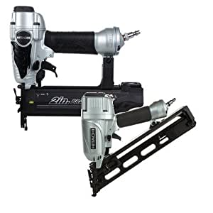 Hitachi Knt65 50 2 Piece Angled Finish Nailer Amp Brad