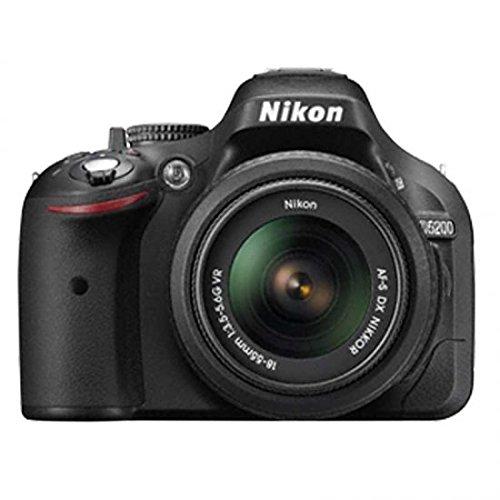 Cámara de fotos réflex NIKON D5200 24Mpx AF pantalla abatible ...