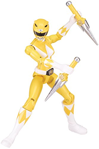 Power Rangers Legacy Mighty Morphin 5-Inch Yellow Ranger Action Figure