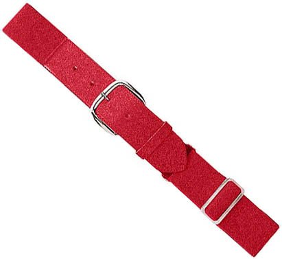 Authentic Baseball Belts Sports Shop Red Youth Baseball/Softball Adjustable Elastic Belt ()