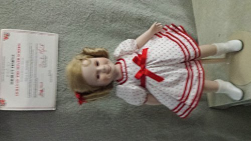 Shirley Temple Stand Up and Cheer Porcelain Doll - 14 Inc...