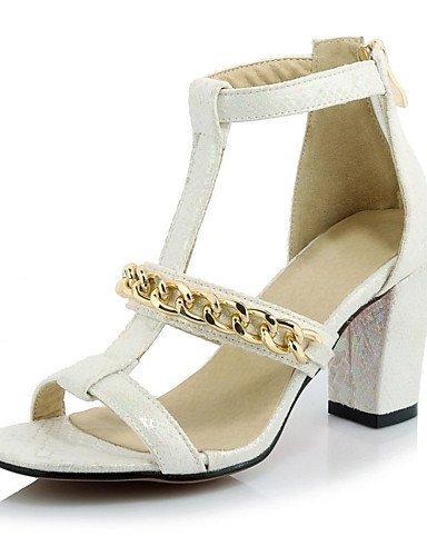 ShangYi Women's Shoes Customized Materials Stiletto Heel Heels Sandals Wedding / Office  Career / Party  Evening...