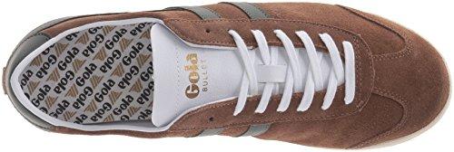 Gola Mens Pallottola Scamosciata Moda Sneaker Tabacco / Kaki
