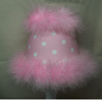 Silly Bear Lighting Candy Girl Chandelier Shade, Pink