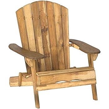 Amazon.com: Plegable de cedro Adirondack Silla, Amish ...