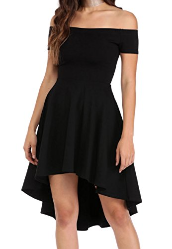 The Roswear Women's Dress Skater All Black Rage EryEq8wzTB