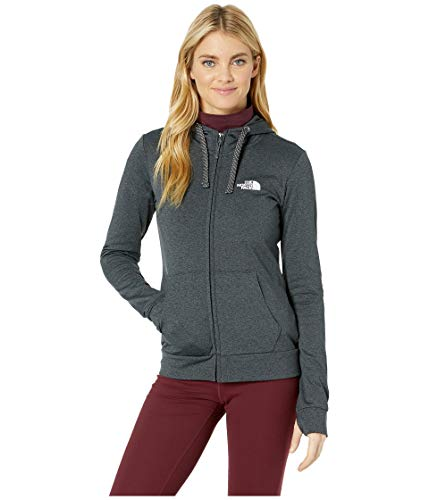 The North Face Women's Fave Lite LFC Full Zip TNF Dark Grey Heather/TNF White X-Large ()