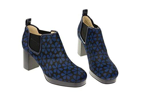 Clarks Botines damenstiefeletten Orla Audrey Negro Azul Azul