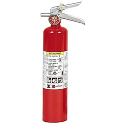 Badger 22430B Standard 2 1/2 lb ABC Fire Extinguisher w/ Vehicle Bracket