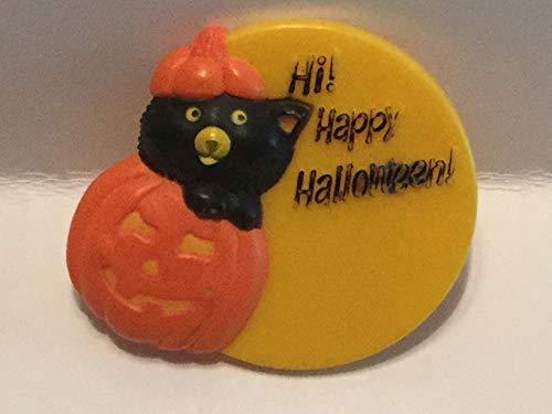 (Hi! Happy Halloween! Lapel Pin)