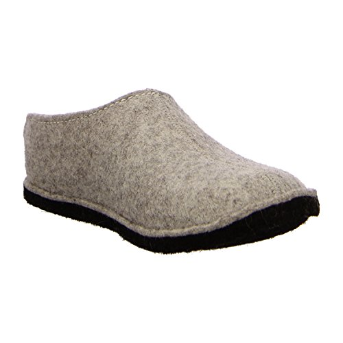 Grey Haflinger Womens Smily Slippers Flair qR64RI