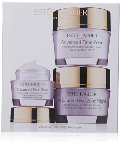 Estee Lauder 3 Piece Advanced Time Zone 3 to Travel Kit for Unisex by Estee Lauder