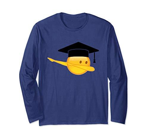 Funny Dabbing Bachelor Graduation Long Sleeve -