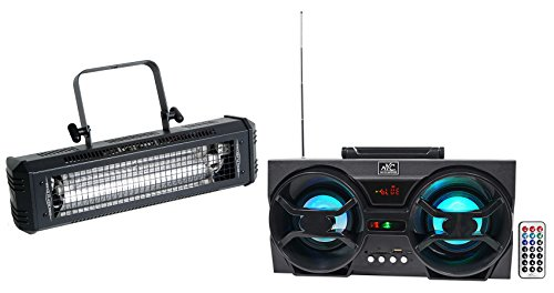 sh DMX 800w Compact DMX Strobe Light+Free Bluetooth Speaker! (Dmx 800 Watt Strobe Light)
