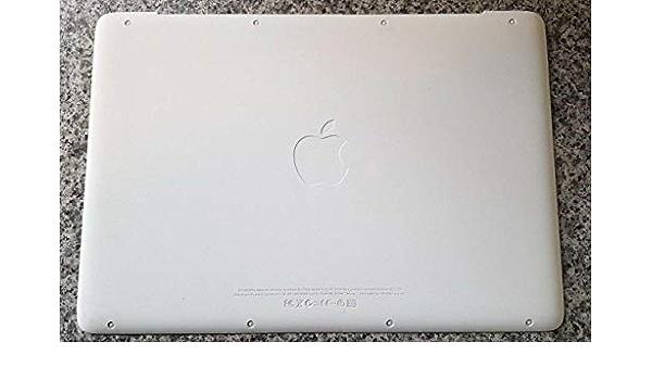 A1342 Compatible For Apple Macbook 13 Unibody Bottom Case Rubber Lid Cover Door 2009 2010 Amazon Ca Electronics