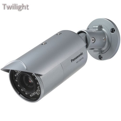 Panasonic WV-CW314L Weather-Resistant IR LED Day/Night Fixed Color Camera ()