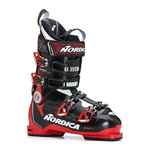 Nordica Speedmachine 110 Ski Boot - Men's Anthracite/Black/Red, 27.5 (Ski Boots Mens Nordica)