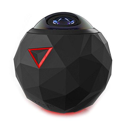 Night Vision 360Fly 360° 4K Video Camera with WiFi 360Fly/GhostStop Action Cameras