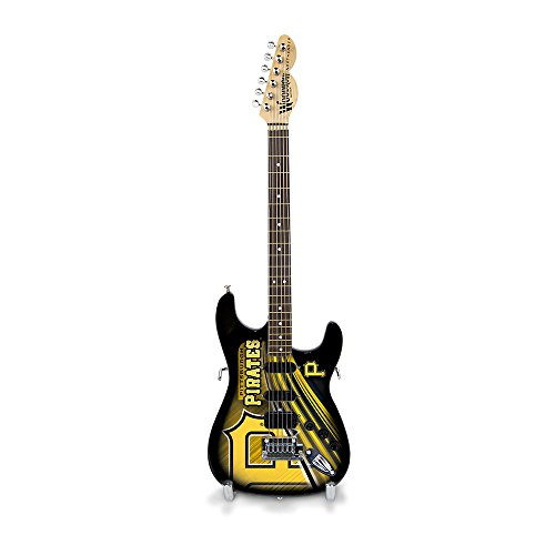 (The Sports Vault MLB Pittsburgh Pirates GMMLB22Mini Guitar, Multi, One Size)