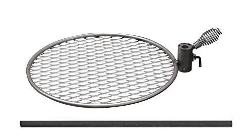 Double Flame Fire Pit Accessory Grill