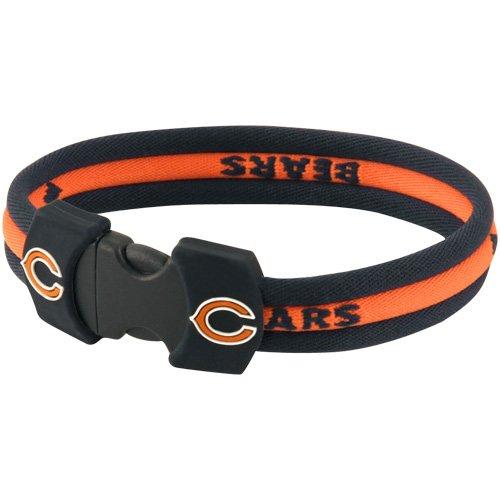 Nfl Sport Bracelet - Chicago Bears NFL 7'' Titanium Sports Bracelet