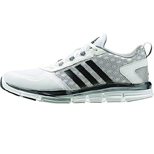 adidas Performance Men's Speed 2 Cross-Trainer Shoe, White/Carbon Metallic/Light Onyx, 10 M US