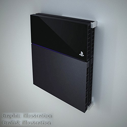 Danish Designed Wall Mounting Kit For Playstation 4 Ps4