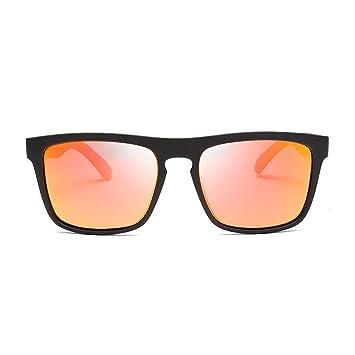 Deportes Aluminio Magnesio Color Moda Gafas de Sol Hombres ...