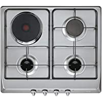 Teka Built-In Gas & Electric Hob 60cm, 3 gas burners + 1 hot plate, cooker hob,EX 60 3G 1P AI