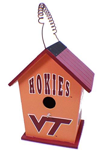 Hanna's Handiworks College Virginia Tech Hokies NCAA Licensed Birdhouse Spirit New