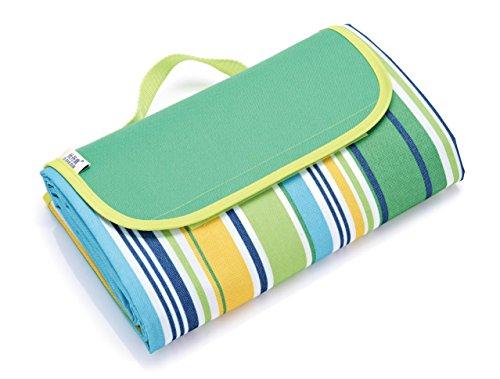 [해외]캠핑 여행을위한 야외 피크닉 담요 매트 방수 비치 담요 매트 -79 x 57/Outdoor Picnic Blanket Mat Waterproof Beach Blanket Mat For Travelling Camping -79 x 57