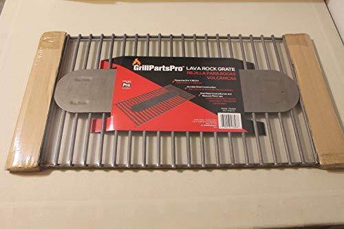Brinkmann Gas Grill Steel Lava Rock Charcoal Grate W Drip 11 X 22.3 Inch