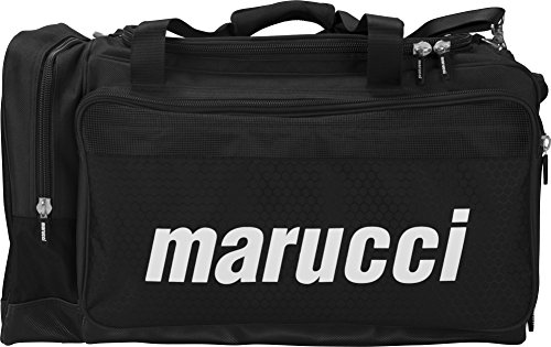 Bags Baseball Duffle (Marucci Team Duffel Bag, Black)